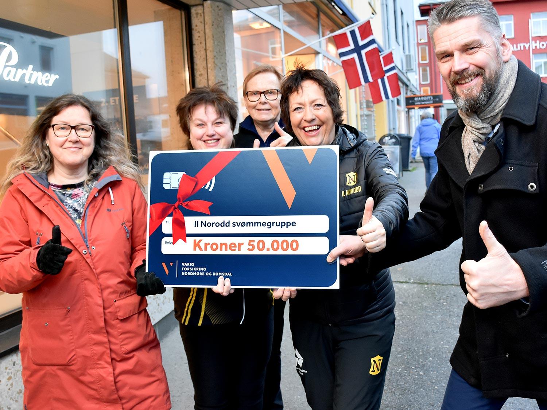 Varig Forsikring Nordmøre og Romsdal gir tilbake til kultur og idrett